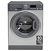 Hotpoint Ultima Washer Dryer, WDUD9640G, 9KG Load, Graphite