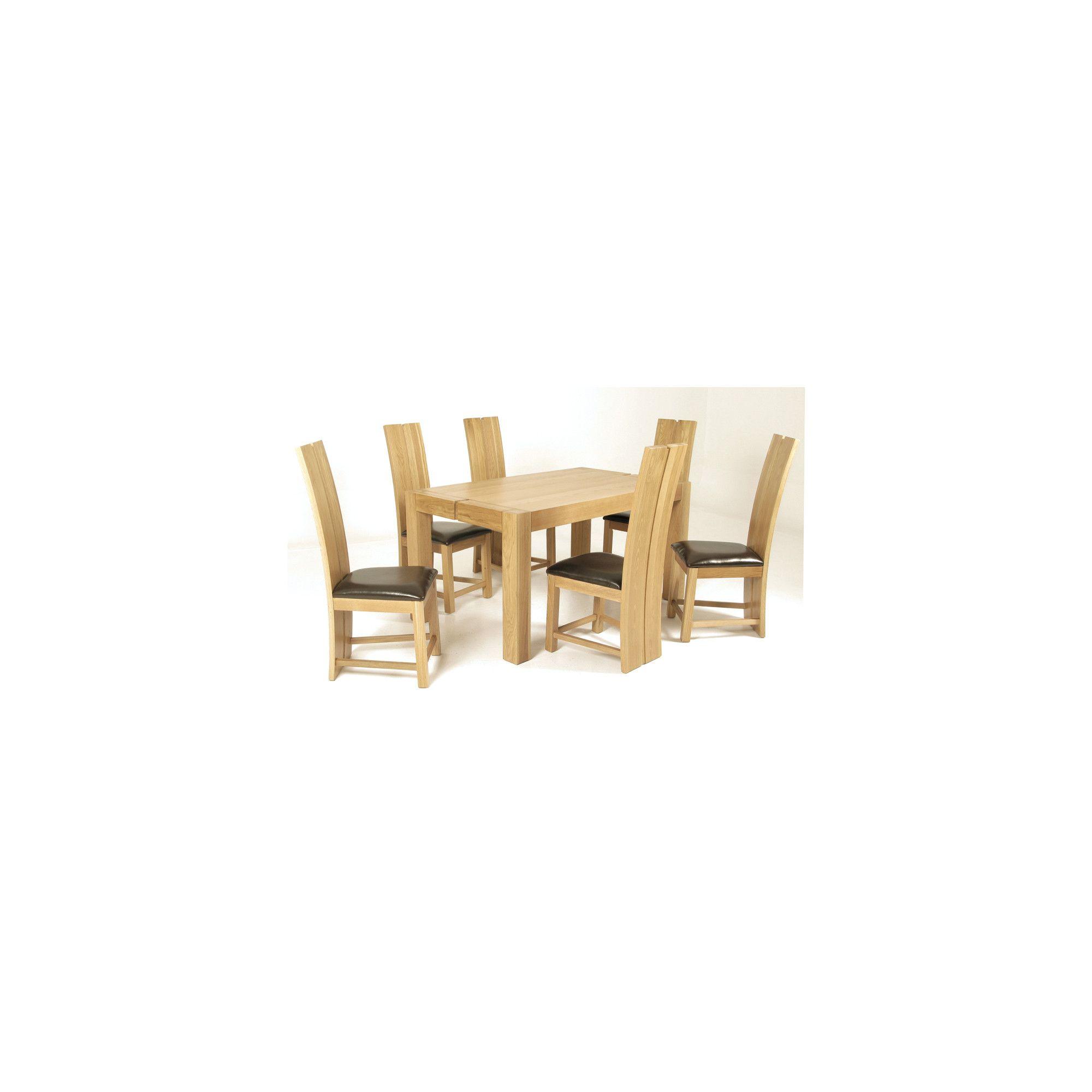 Elements Eton 7 Piece Oak Dining Collection