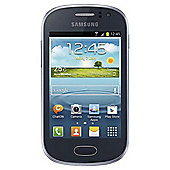 Tesco Mobile Samsung Galaxy Fame Blue