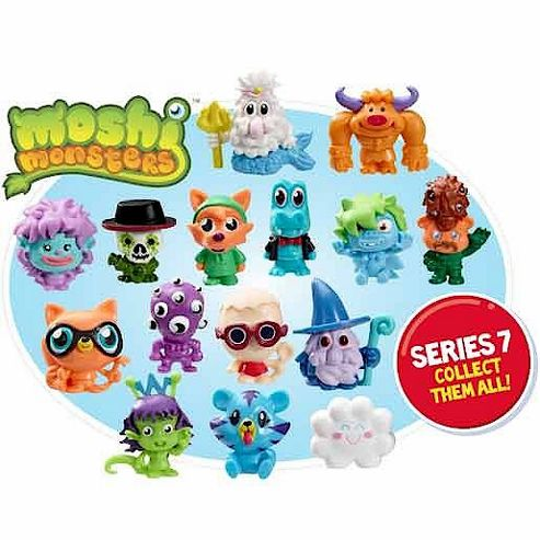Moshi Monsters Five Moshlings Pack - Series 7