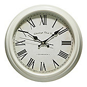 Premier Housewares Cream Traditional Wall Clock