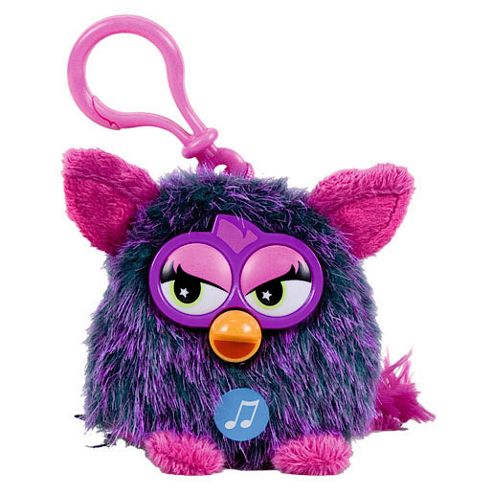 Furby Talking Key Ring - Purple