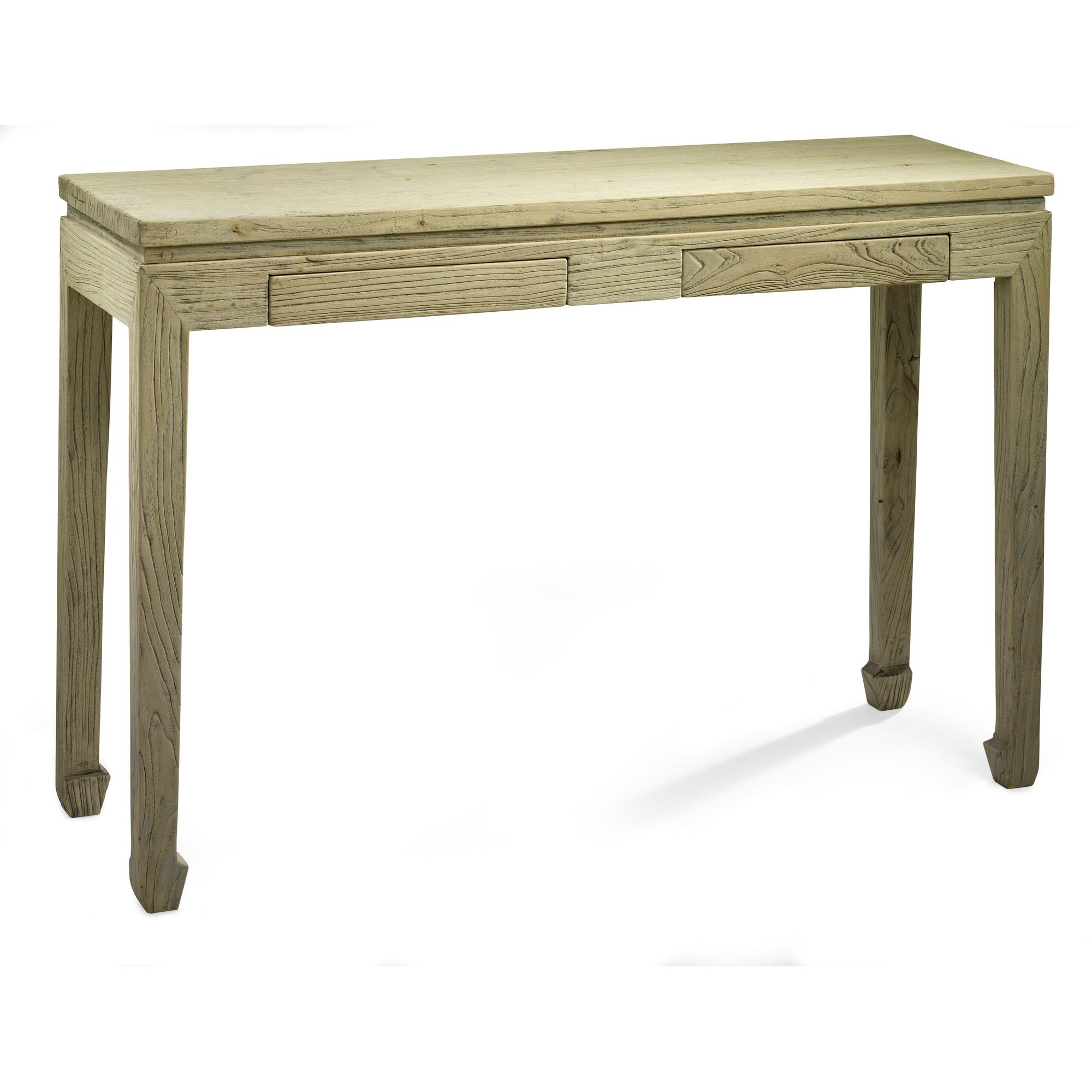 Shimu Chinese Country Furniture Two Drawer Console at Tesco Direct