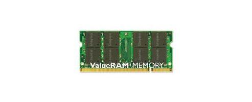 Kingston ValueRAM 1GB 667MHz DDR2 Non-ECC CL5 SODIMM Memory Kit