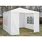 AirWave Party Tent Marquee Fully Waterproof With WindBar - 3x3m in White