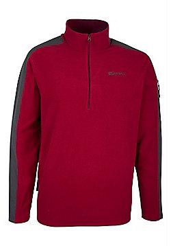 Buxton Mens Fleece - Red