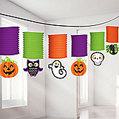Halloween Friendly Lantern Garland - 3.65m