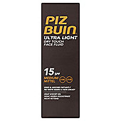 Piz Buin Ultra Light Face Spf 15 50Ml