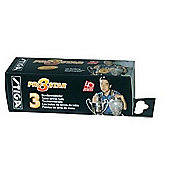 Stiga Balls 3 Star Pro White 3 pack