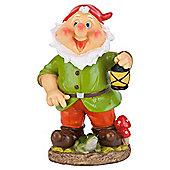 Tesco Wobble head green gnome