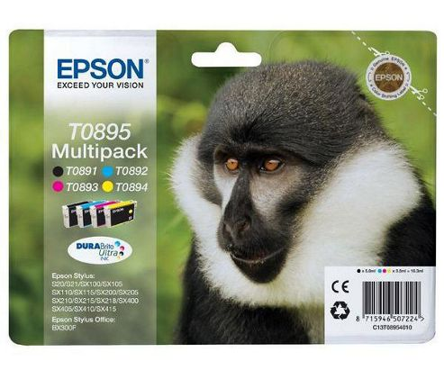 Epson T0895 printer Ink cartridge - Multicolour