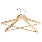 Wooden Hangers, Pack of 20