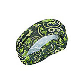 Patterned Head Tube Mens Womens Unisex Neck Warmer Scarf Balaclava Head Tube - Green
