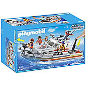 Playmobil 5540 City Action Rescue Boat with Water Hose