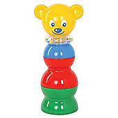 Gowi Toys 453-18 Pyramid Stacking Bear