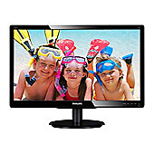 Philips 226V4LAB/00 (21.5 inch) LCD Monitor 1000:1 250 cd/m2 1920 x 1080 5ms VGA DVI (Black)