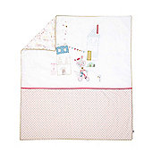 Mamas & Papas - Pixie & Finch - Girls Cotbed Quilt