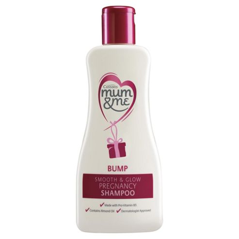 Mum & Me Bump Smooth & Glow 300ml Pregnancy Shampoo