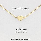 Estella Bartlett Love Me Tender Ladies Charms Bracelet - EB538