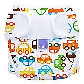 Bambino Mio Miosoft Reusable Nappy Cover - Size 2 (Traffic Jam)
