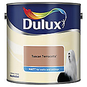 Dulux Matt Emulsion Paint, Tuscan Terracotta, 2.5L