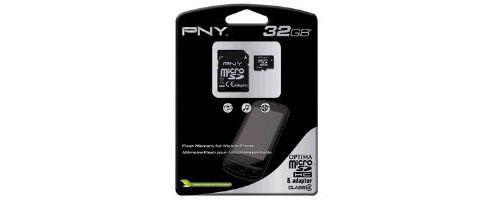 PNY Micro SDHC Class 4 Card 8GB