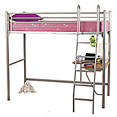 Opal Metal High Sleeper Bed