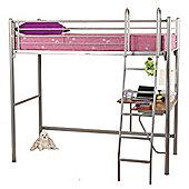 Opal Metal High Sleeper Bed
