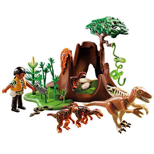 Playmobil Dinosaur 5233 Deinonychus and Velociraptors