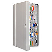 Helix Standard Key Safe Steel with Cylinder Lock and Fixings 200 Key Ref WR0200