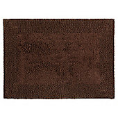 Tesco Reversible Bath Mat Chocolate