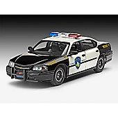 Revell Chevy Impala Police Car '05 1:25 Model Car Kit - 07068