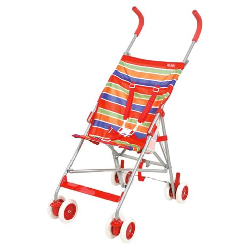 Red Kite Baby Push Me Lite Pushchair, Summer Stripe