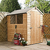 6ft x 4ft Tongue & Groove Apex Wooden Shed