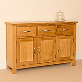 Newlyn Large Sideboard - Light Oak