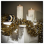 Festive 2M X 125Mm Pure Luxury Loop Tinsel Gold