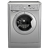Indesit IWD71251S Washing Machine, 7kg Load, 1200 RPM Spin, A+ Energy Rating, Silver