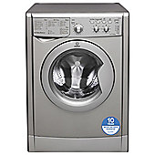 Indesit Ecotime Washing Machine,  IWD71251SECO, 7KG Load, Silver