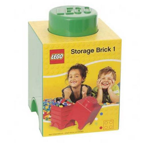 LEGO Storage Brick 1 Green