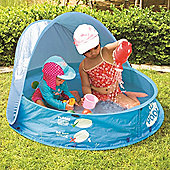 Safetots Pop Up Pool and Sand Pit with 50+ UPF Shade