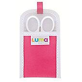 LUMA Baby Scissors Magenta Pink