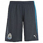 2013-14 Newcastle Away Football Shorts (Kids) - Navy