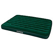 Intex Queen Size Downy Airbed with Built-in Foot Pump