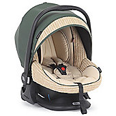 Bebecar Prive Luxury Easy Maxi ELs Car Seat (Green Weave)