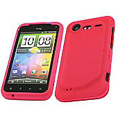 Pink SnapGuard Protection Case - HTC Incredible S