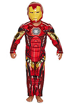 Marvel Avengers Assemble Iron Man Dress-Up Costume years 03 - 04 Red