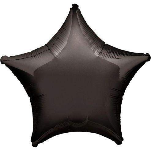Black Star Balloon - 19' Foil (each)
