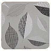 Tesco Leaf Coaster 4 pack