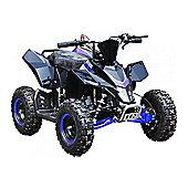 Hawkmoto SX-49 Racing Style Mini Quad Bike-blue
