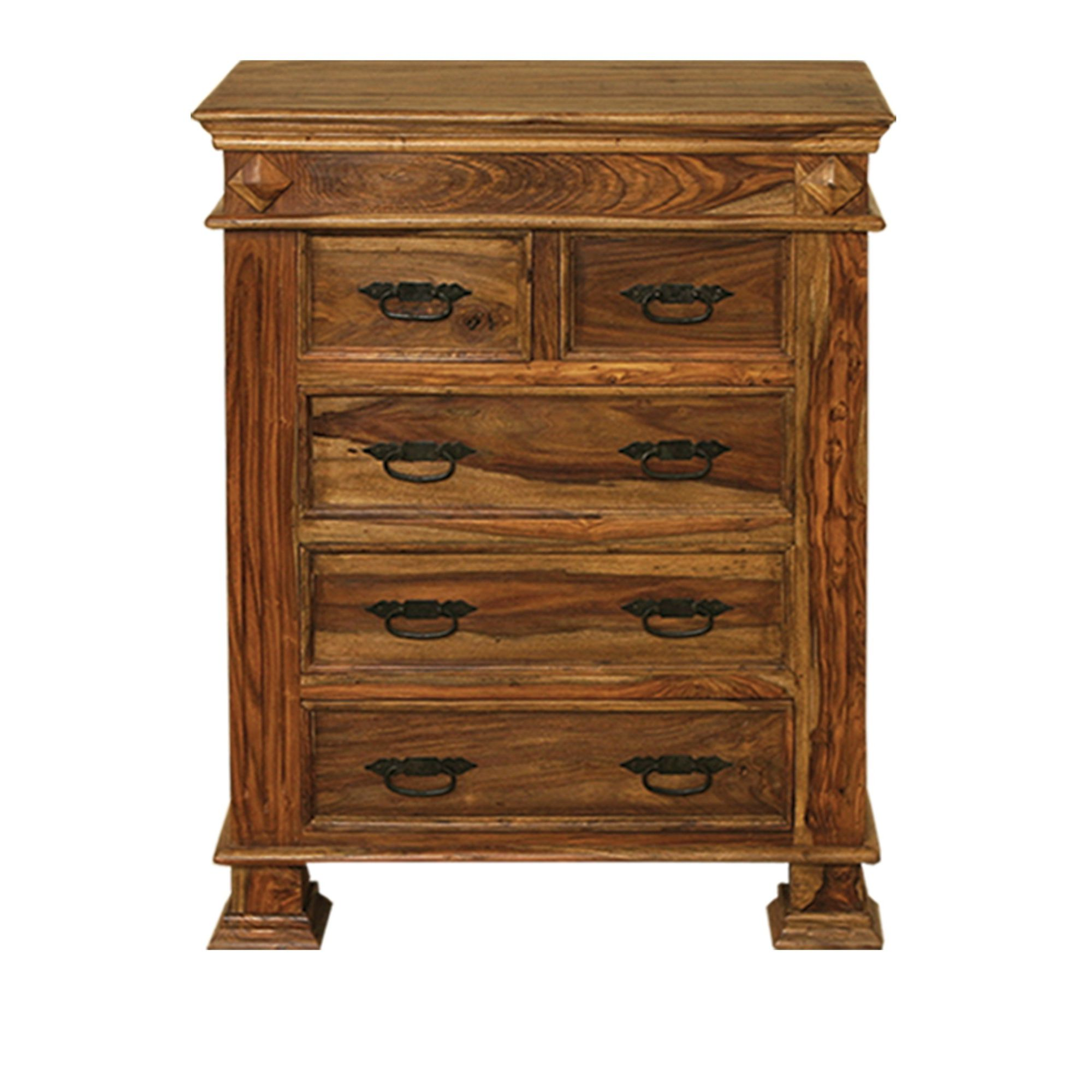 Elements Tirupur Bedroom Five Drawer Chest at Tesco Direct